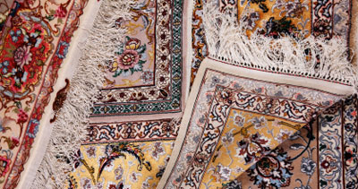 Silk Rug Color Restoration