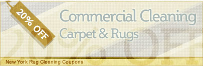 Cleaning Coupons | 20% off commercial cleaning | New York Rug Cleaning