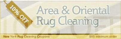 Cleaning Coupons | 10% off area rug cleaning | New York Rug Cleaning